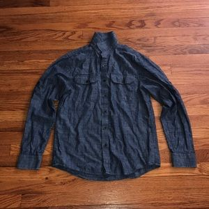 Michael Kors jean dress shirt